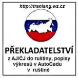 Odborné překlady TD z AJ / ČJ do RJ