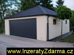 Montované garáže ( s omítkou ) pro celou ČR