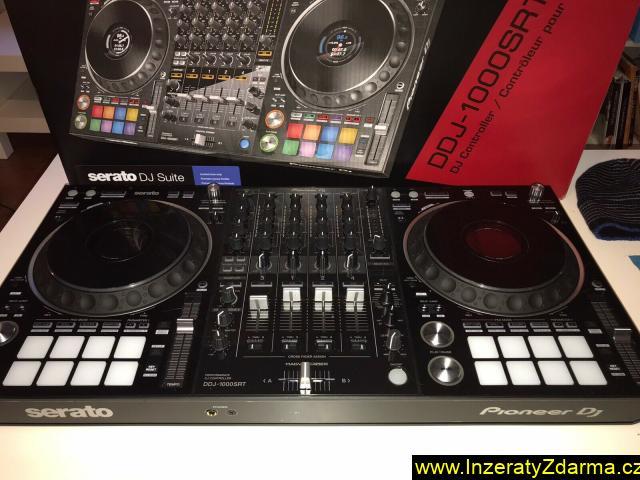 Zcela nový Pioneer DJ DDJ - 1000SRT 4 - kanálový