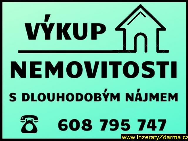 Výkup zadlužených nemovitosti s nájmem